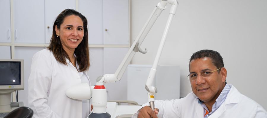 Doctor Madriz and Doctor Peña